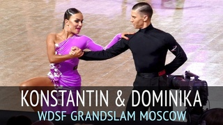 Konstantin Gorodilov & Dominika Bergmannova | Ча-ча-ча | 2018 GrandSlam Latin в Москве