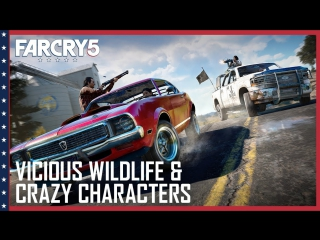 Far Cry 5- Vicious Wildlife, A Crazy Cast of Characters, and Co-Op Hijinks | UbiBlog | Ubisoft [US]