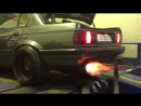 BMW E30 M50 Turbo - Anti Lag Flame Thrower 820WHP