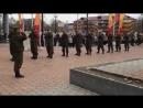 Южно-Сахалинск. 2015г. Тренировка Парада. РазведРота