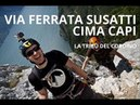 Cima Capi, via ferrata Susatti, Lago di Garda - Tribe Treks 09