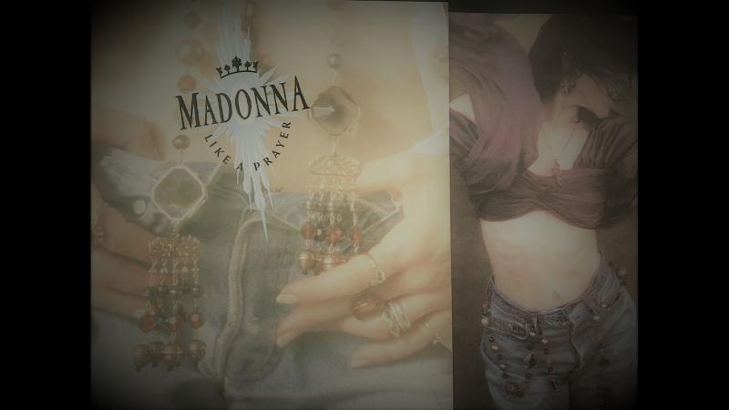 Madonna - Cherish. Vinil ©1989 Sire Records Company