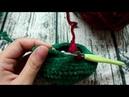 Как поменять цвет нити при вязании крючком