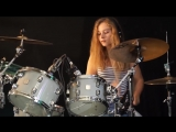 Sultans Of Swing (Dire Straits) drum cover by Sina