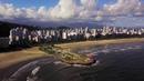 Brasil Santos Sp Passeio de Drone pela Cidade