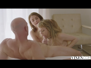 Ivy Wolfe, Rosalyn Sphinx & Johnny Sins [HD 1080, All Sex, Threesome, Teen, Small Tits, Brunette, Blonde, Hairy, Creampie]