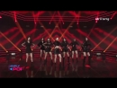 CLC - Black Dress @ Simply K-Pop 180316