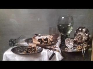 Виллем Клас Хеда (1593/1594-1680/1682) — «Завтрак с ежевичным пирогом» (1631),