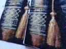 Сравним Две основы Одна вышивка 18 канва Конгресс страмин 24 каунт Вышивка крестиком