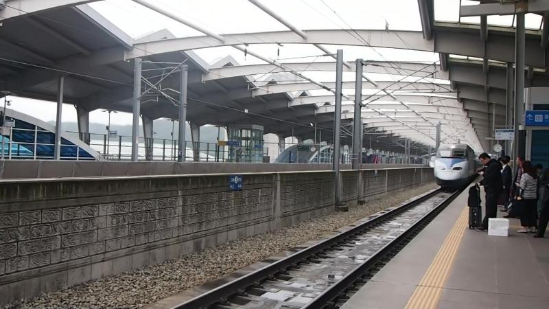 Поезд в Пусан (KTX)