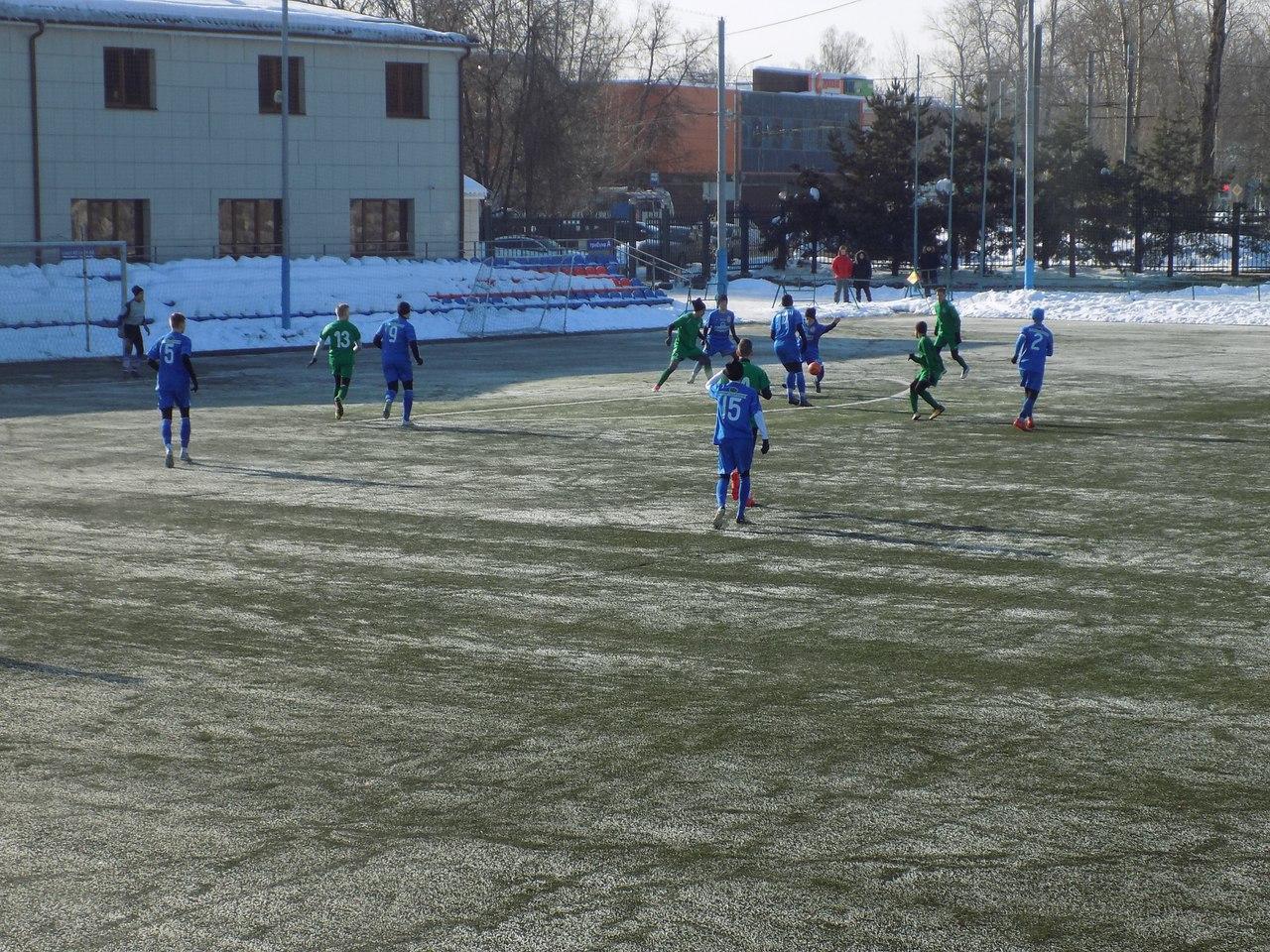 Команды СШ «Витязь» в Зимнем Первенстве Москвы в первом туре второго этапа в пяти проведённых среди зачётных игр набрали 13 очков