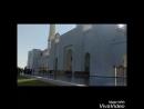 в красивой белой мечети шейха Аль Зайеда!