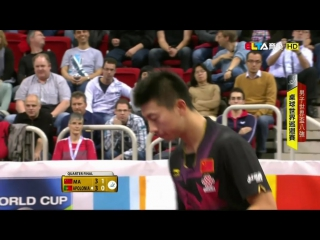 2014 Mens World Cup (ms-qf) MA Long - APOLONIA Tiago [HD @1080p] [Full Match-Chinese]