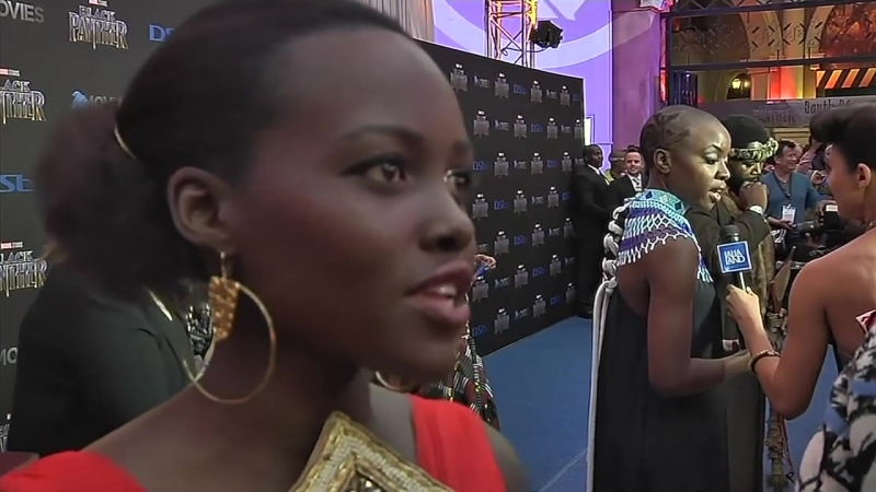 Lupita Nyong39;o brings 39;Black Panther39; home to South Africa - YouTube