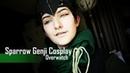 Cosplay Make Up Genji Shimada Overwatch Sparrow Skin