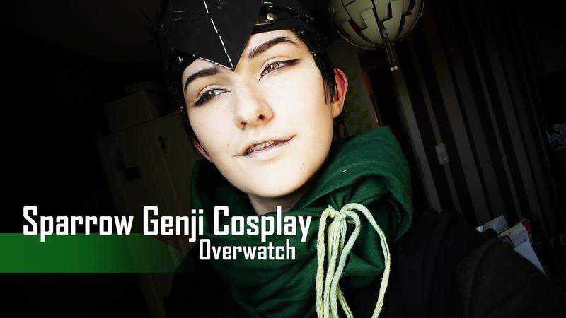 Cosplay [Make-Up] Genji Shimada (Overwatch | Sparrow Skin)
