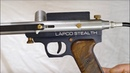 The Lapco Stealth - Custom Colin Thompson Ghost Pump Paintball Gun c.1990
