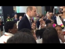 The Bridges Choir meeting HRH Prince William, Duke of Cambridge at the opening of London Bridge Station! Thank you @networkrail