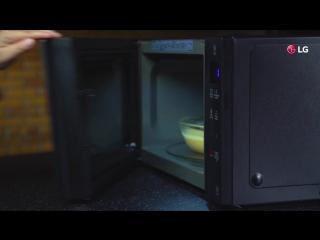 LG NEOCHEF MANTECADA baking in microwave.mp4