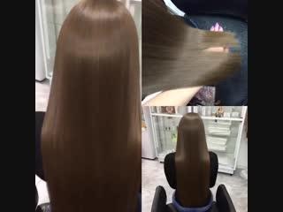 До и после. Восстановление волос. Узнай подробнее