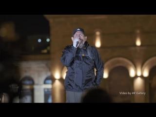 Velvet revolution in Armenia | Бархатная революция в Армении