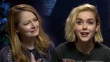 Sabrina Spell-ing Bee The Chilling Adventures Cast Tests Their Magic Knowledge
