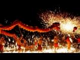 Танец под искрами расплавленной стали