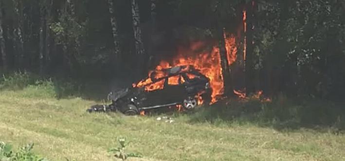 В Железногорске в ДТП погиб водитель «БМВ»