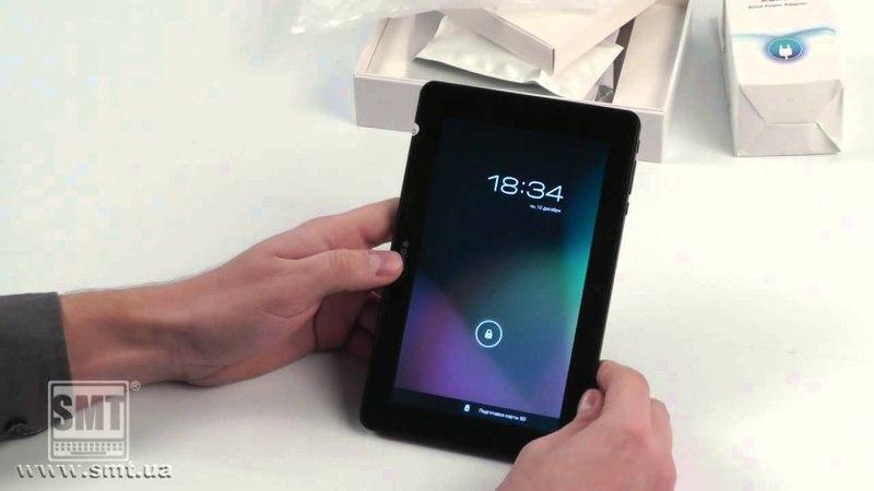 Видео-обзор на планшет Ainol Novo 7 Crystal