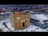 Отзыв Заказчика о построенном нами доме 132 кв. м.в Солонцах