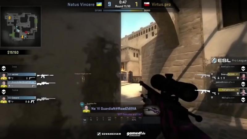 [Small Gamer] NaVi vs VirtusPro Полная игра их тимспик teamspeak