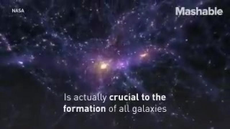 Астрономы только что сделали прорыв в вопросе о темной материи