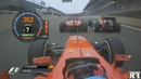 F1 Double Overtakes Onboard Compilation 2