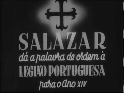 HINO E DESFILE LEGIÃO PORTUGUESA 1939