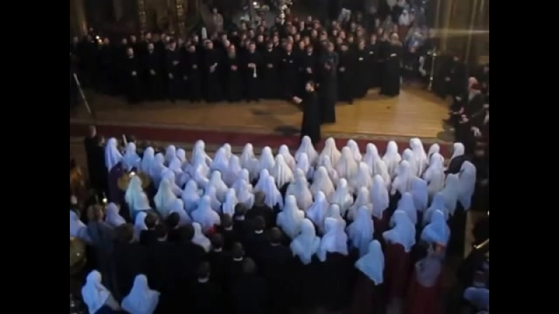 Пение старообрядческих хоров на Жен-Мироносиц, Рогожское