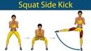 Perfect Legs Series Squat side kick