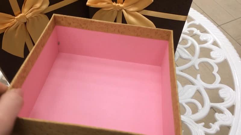 Подарочные коробочки 🎁