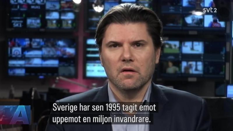 SVERIGE - Anders Lindberg fra Aftonbladet m.m.
