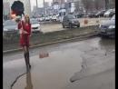 Как самарские автомобилистки измеряли ямы на дорогах