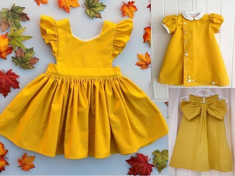 Best Baby frocks New Designs and New Trends for baby girls