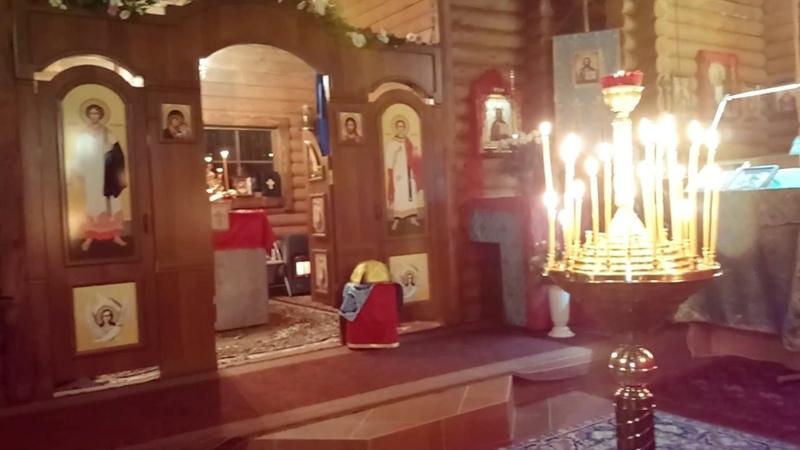 Пасха - 2018. Часть 1: Крестный Ход, Пасхальный Канон