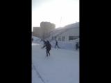 DEAF 02.02.2018 годаТренировочные дни, зимный флорбол))) DEAF 02.02.2018 Training days, winter floorball)))
