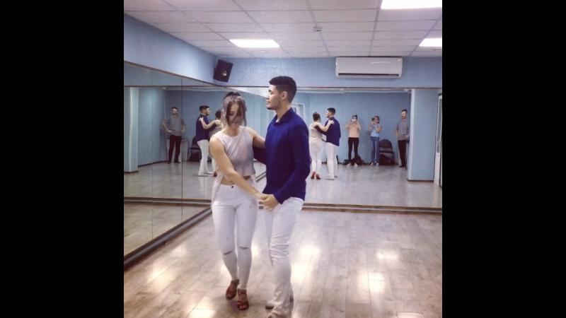 Mario Santos and Kari Irig