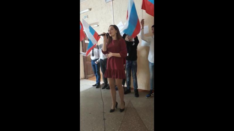 2018 03 18 Даша с песней о маме.