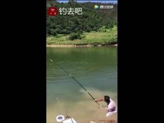 Херабуна. Когда рыба быстрее и сильнее рыбака ;-)