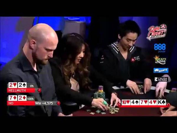 Best Seven Deuce hands played in Poker