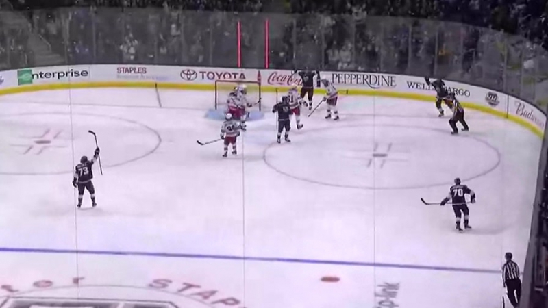 Лос-Анджелес Кингз 4-2 Нью-Йорк Рейнджерс. Обзор матча (Хоккей. НХЛ) 22 января
