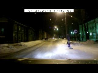 Северодвинск. Пешеходу разговор по телефону важнее жизни