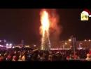 Палаючі, куці та повалені ялинки новорічні курйози з усього світу