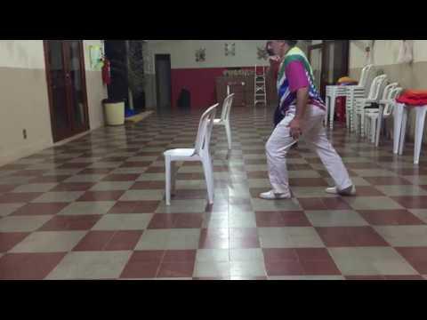 UNICAPOEIRA: Grupo Meia Lua/26abr62. Clube Cultural Tiguera. Mestres Polêmico e Pintor. Tr1. 09jul18